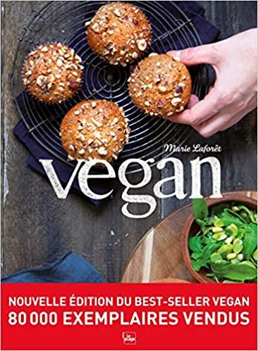 Livre - Vegan - Marie Laforet - réédition 2020