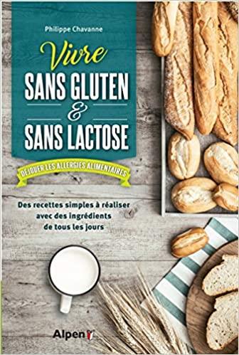 Livre - Vivre sans gluten sans lactose