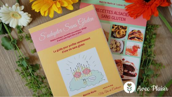 Livres s'adapter sans gluten - Ma Vie de Coeliaque