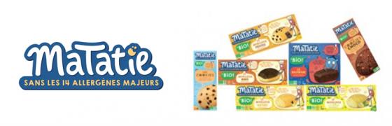 Les goûters sans allergènes majeurs pour votre enfant allergique : Matatie, brownie et cookie