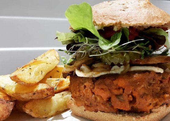 Où manger les meilleurs burgers sans gluten ? Totum Cantine