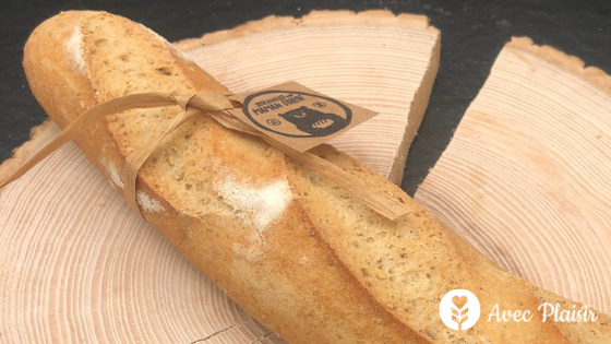Baguette de pain sans gluten - Boulangerie Maman Ourse à Lyon