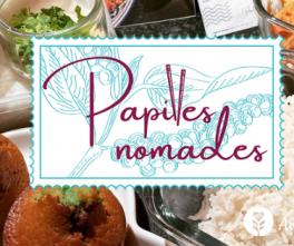 Papilles Nomades, un service traiteur flexitarien et végétal lyonnais autour de la cuisine du monde