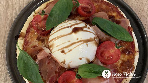 Recette simple de pâte à pizza sans gluten et sans allergènes