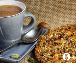 petit-dejeuner-galette-cereale-chocolat-chaud-sans-gluten