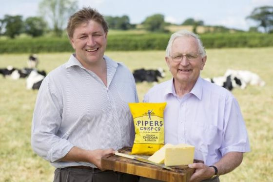 Pipers Crips, des chips sans gluten venues d'Angleterre - Agriculteurs - Cheddar