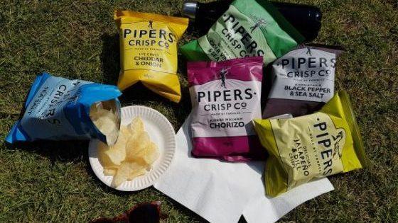 Pipers Crips, des chips sans gluten venues d'Angleterre - Pique-Nique