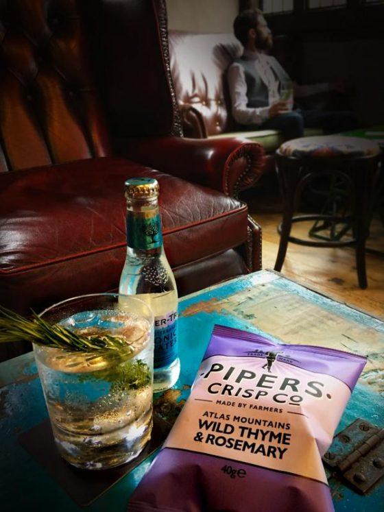 Pipers Crips, des chips sans gluten venues d'Angleterre - Apéro poivre noir