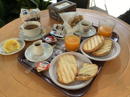 Sardaigne, le paradis italien des sans gluten - petit déjeuner orgosolo