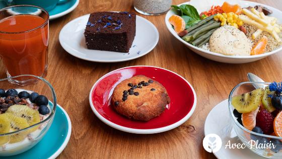 Soeurs : un restaurant végétarien avec des options sans gluten-lait-oeuf