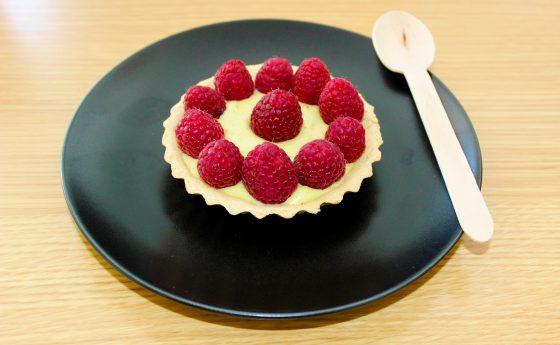 Tartelettes à la framboise sans gluten (sans lactose/lait)