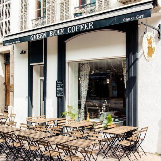 Nos adresses pour manger sans gluten en terrasse partout en France - Green Bear Coffee - Marseille