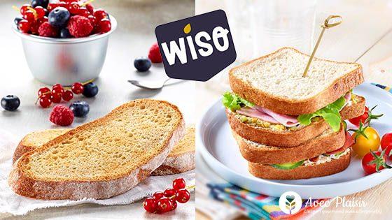 Wiso, une large gamme de pains sans gluten